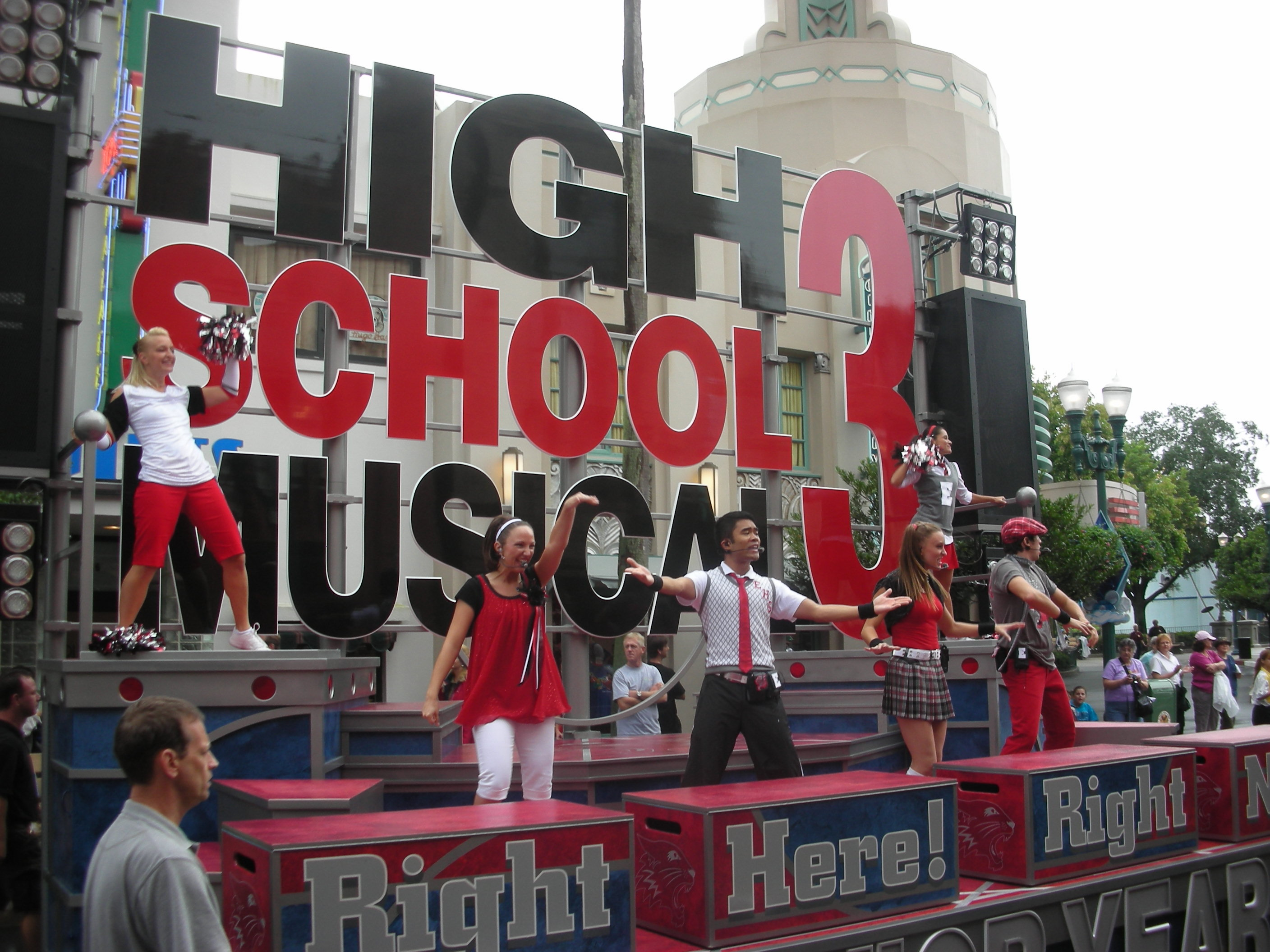 High Float High School Musical 3 Float The Real James Dean